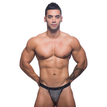 Sheer Stripe Y-Back Jockstrap