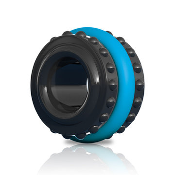 Control Pro Performance Beginners Cockring - Blauw