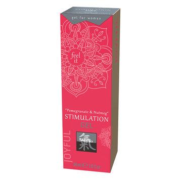 Stimulation Gel - Pomegranate & Nutmeg