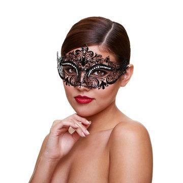 Metaal Venetiaans Masker - Mysterious