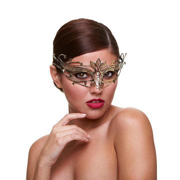 Gouden Venetiaans masker